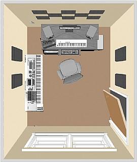 primacoustic london 8 next pro. Black Bedroom Furniture Sets. Home Design Ideas