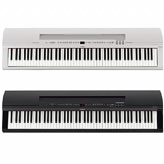 צעיר פסנתר במה חשמלי Yamaha P-255 בצבעי שחור ולבן | Next-Pro GN-75