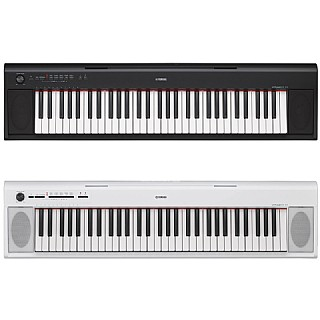 הגדול פסנתר חשמלי Yamaha Piaggero NP-12 קל על בטריות | Next-Pro DZ-68